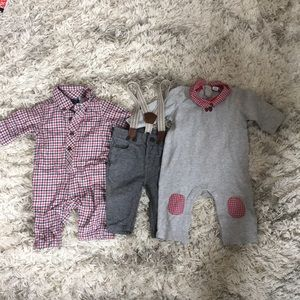 Set of 3 baby boy outfits